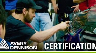 Formation et certification Avery Dennison pour l'habillage de véhicules avec Justin Pate
