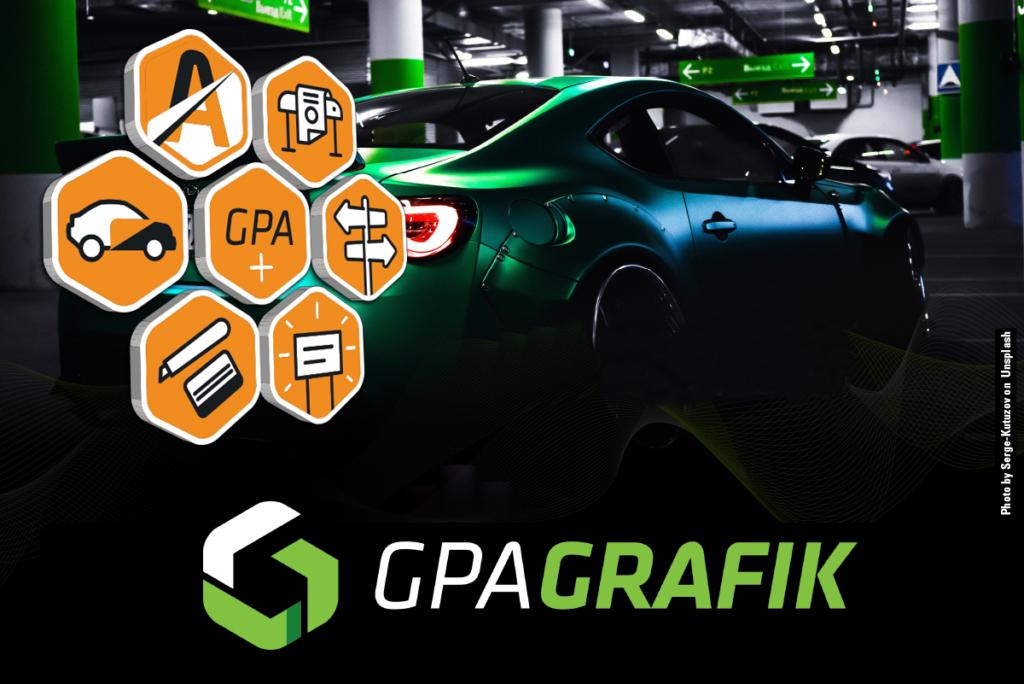 GPA Grafik | Boutique en ligne | Groupe PolyAlto | Lettrage | Enseigne | Wrap | Impression | Signalisation | Accessoires